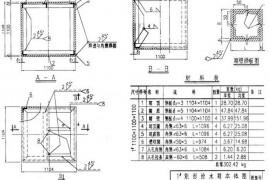 水箱图集12S101比原来的02S101水箱图集适用范围更广
